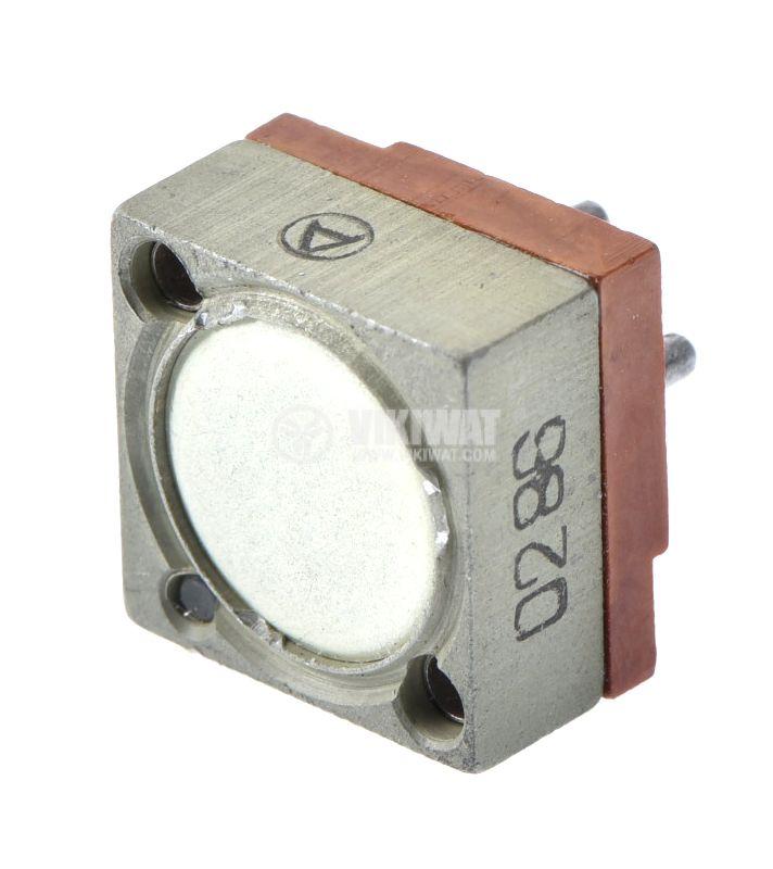Тример потенциометър многообoротен хоризонтален жичен 47 kOhm - 1