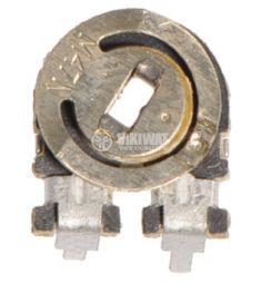 Тример потенциометър еднооборотен линеен, СП338, 470 kOhm