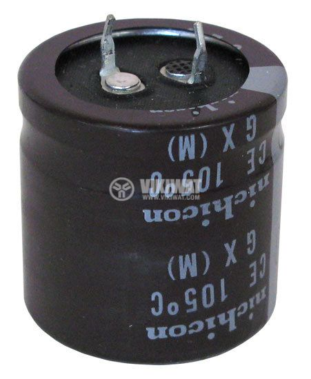 Кондензатор електролитен 63 V, 6800 µF, Ф30x51 mm