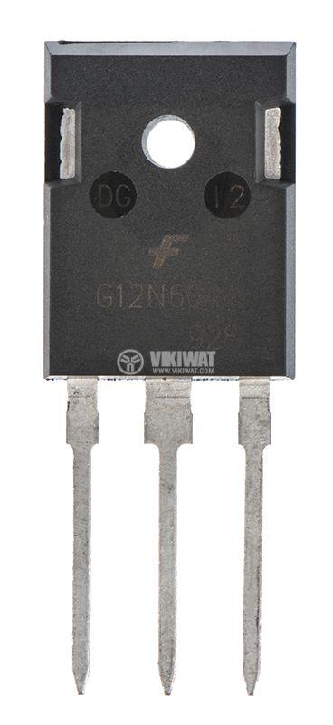 Transistor G12N60A4, 600V, 23A - 1