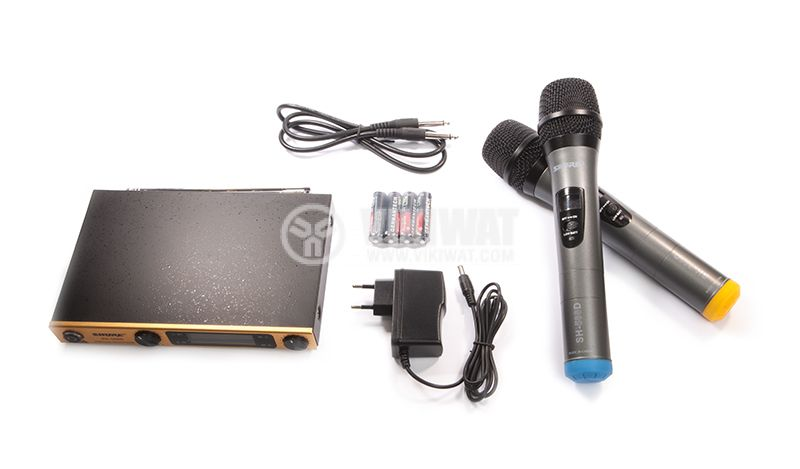 Wireless Microphone, Shure, SH-588D, with LED display - 1