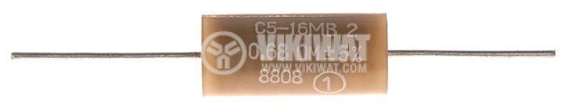 Резистори 0.1 Ohm - 82 kOhm, 2 W, 5%