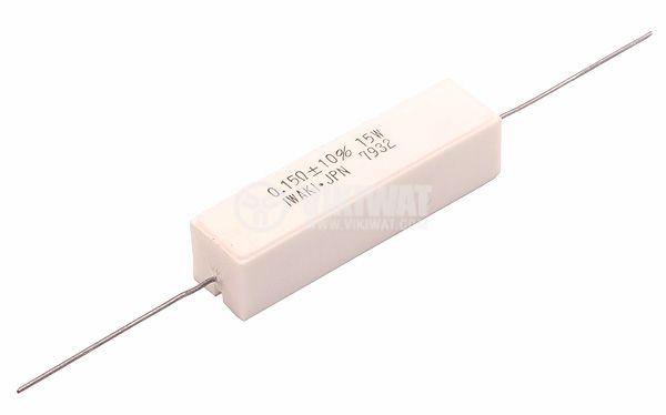 Резистор 2.2 Ohm, 10 W, 5% керамичен