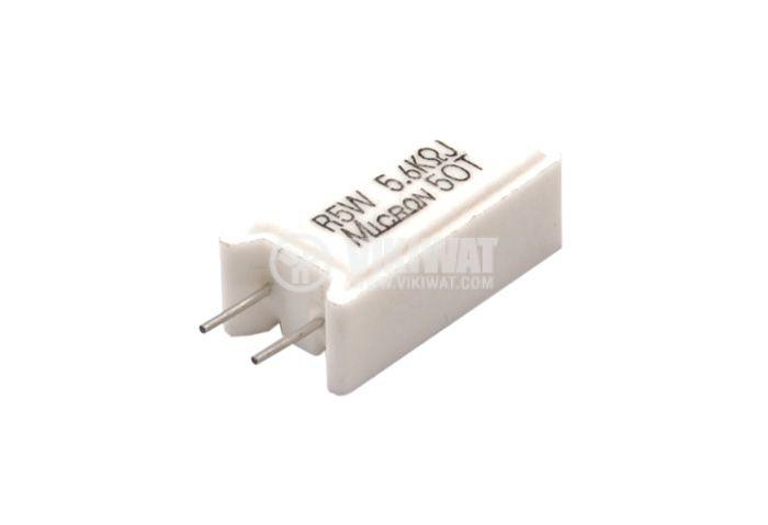 Резистор 5.6 kOhm, 5W 5% Micron 5OT