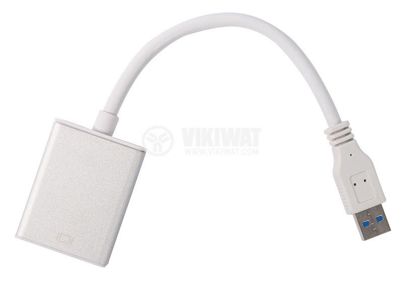 Adapter USB 3.0/m - HDMI/f - 2