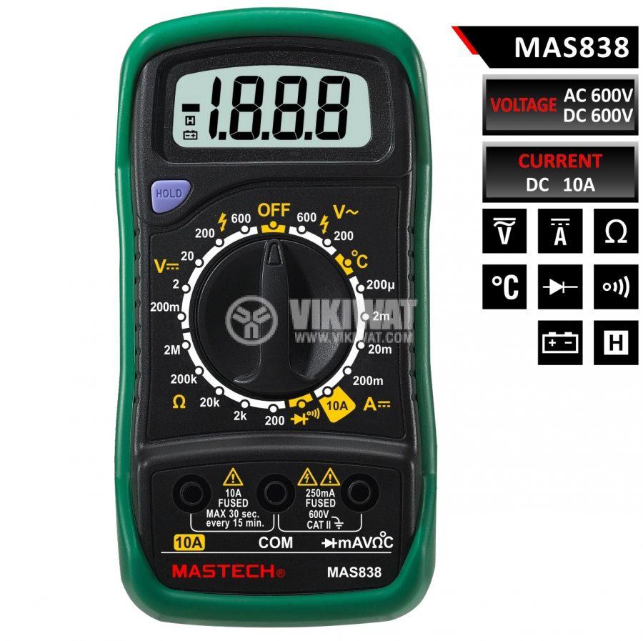Multimeter MAS838 VDC - 1