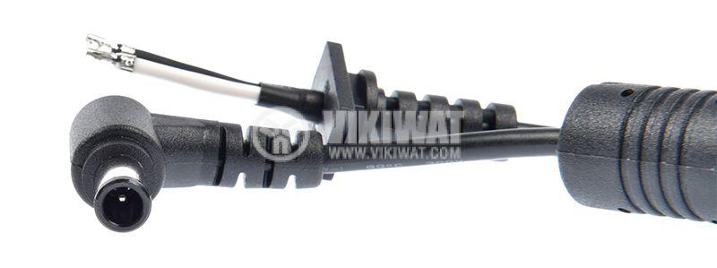 Захранващ кабел с букса за лаптопи SONY 6x4.4 1m - 3