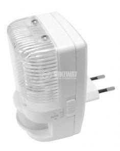 Лампа за контакт с инфрачервен сензор /PIR/ модел PD-PIR2022