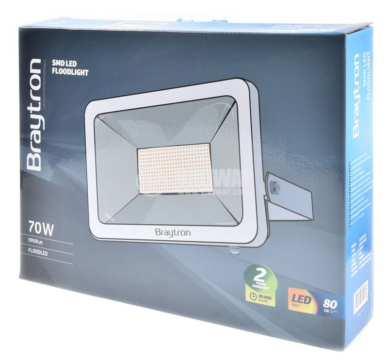 LED floodlight 70W 6500K - 6