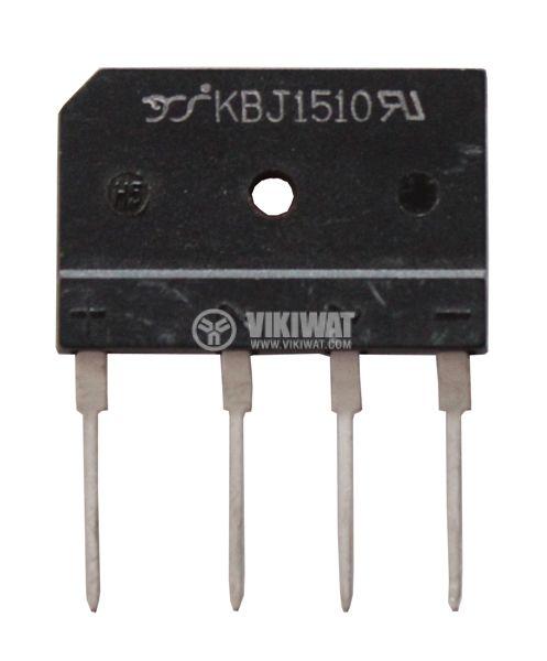 Грец схема 15A/1000V, KBJ1510