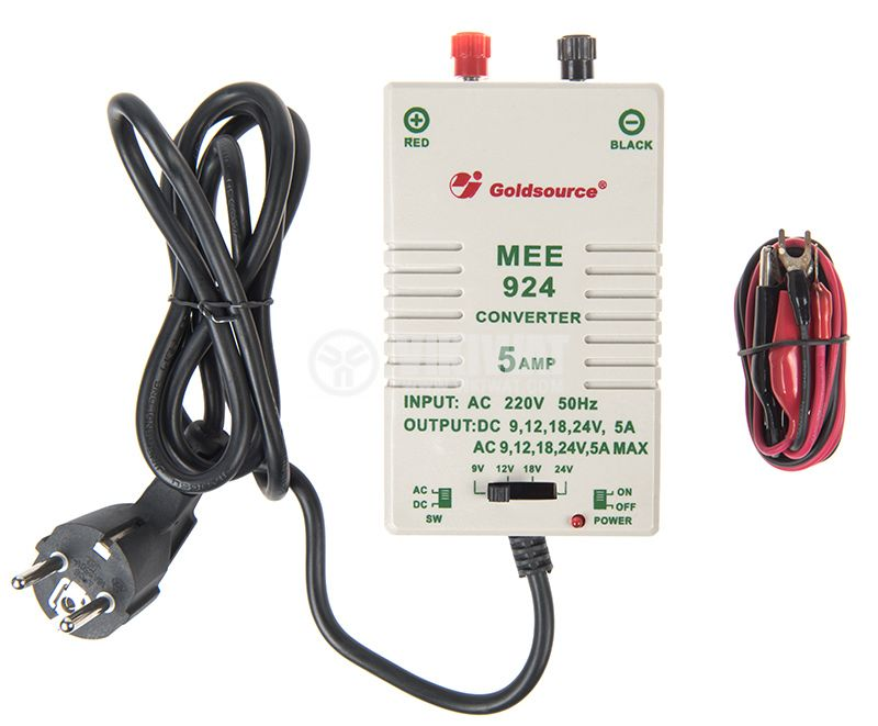 Power Adapter MEE-924 9V 5A unstabilized - 2