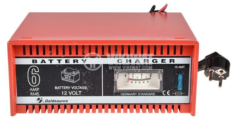 Battery charger, 12 VDC, 6 A - 2