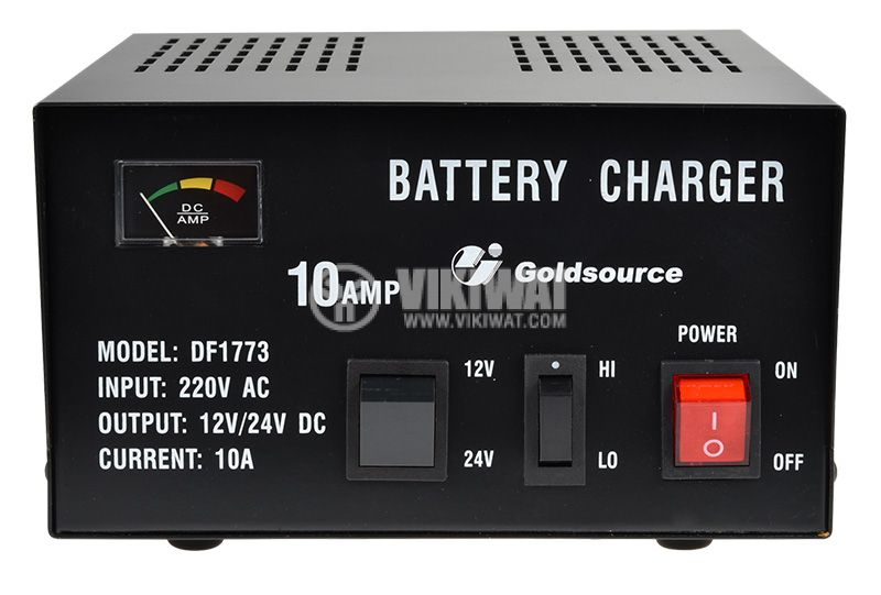 Battery charger 12 VDC / 24 VDC, 10 A, DF1773 - 1
