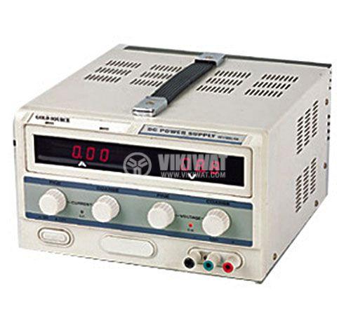 DC лабораторен захранващ блок , DF1730SL, 0-30VDC, 0-20A, 1 канал