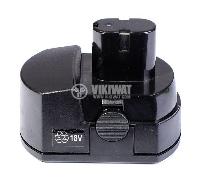 Battery for electric screwdriver 18V, 1000mAh, 15xSC - 1