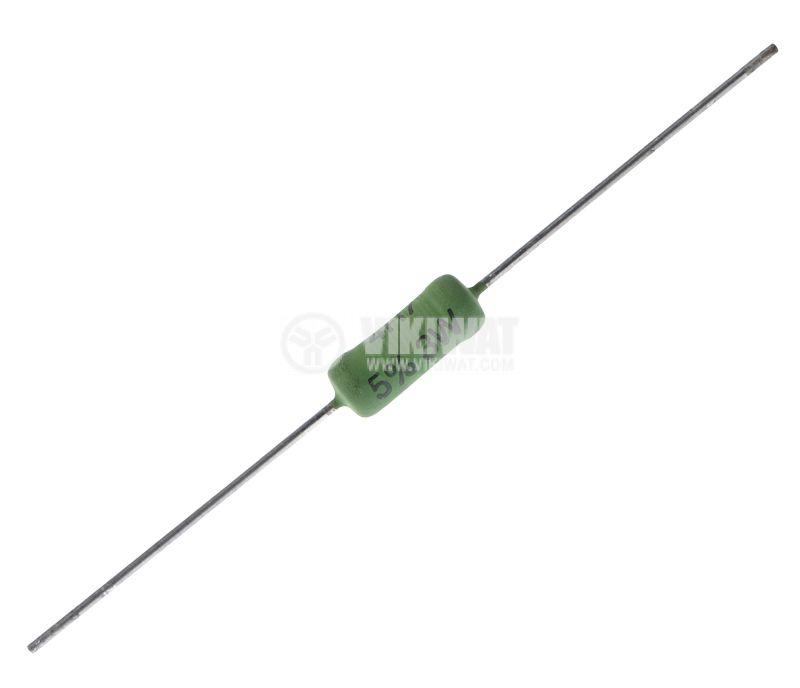 Резистор AC03000004708JAC00 4.7Ohm 3W 5х13 5%