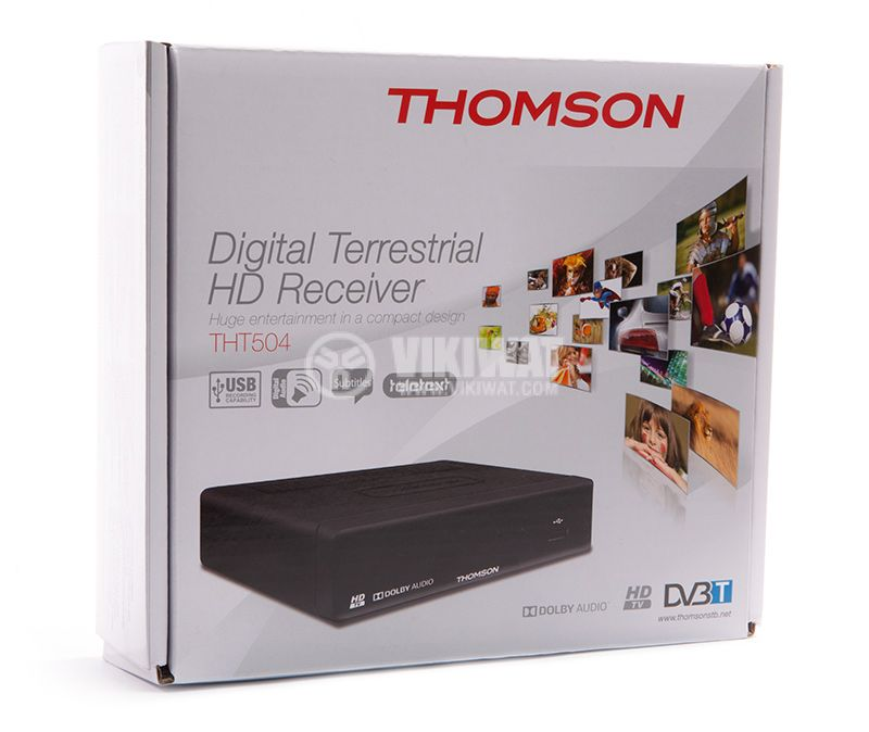 THOMSON THT504 Digital TV Receiver, Wired - 2