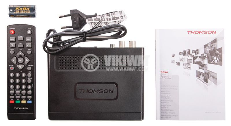 THOMSON THT504 Digital TV Receiver, Wired - 3
