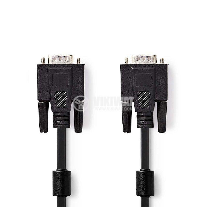 Cable VGA male to VGA male, 15pin, 10m - 1