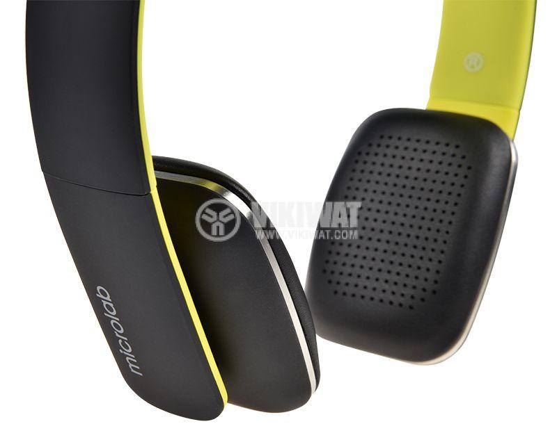 Безжични слушалки Microlab T2, Bluetooth - 4