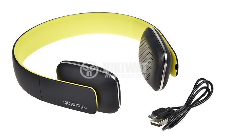 Безжични слушалки Microlab T2, Bluetooth - 6