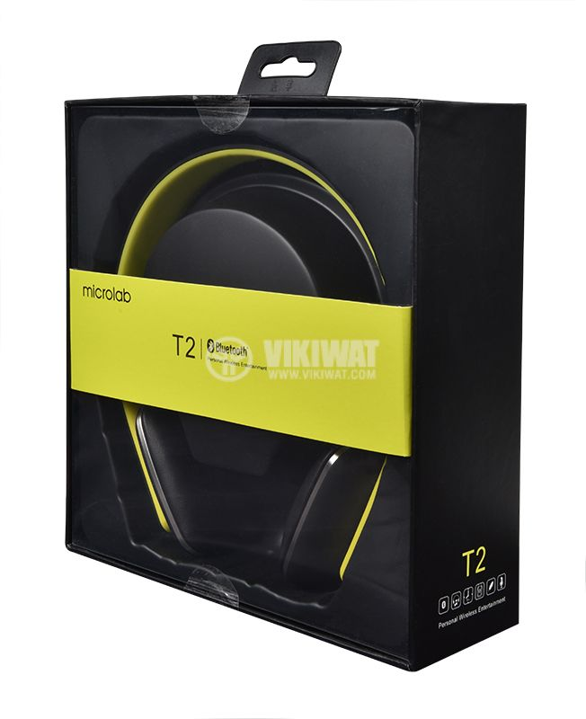 Безжични слушалки Microlab T2, Bluetooth - 7