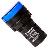 Индикаторна лампа LED, AD22-22DS/B, 220 VAC, синя