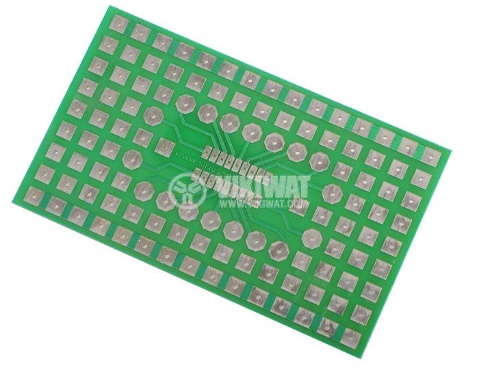 Universal PCB,single side, EX10, 69x115mm, for SMD elements