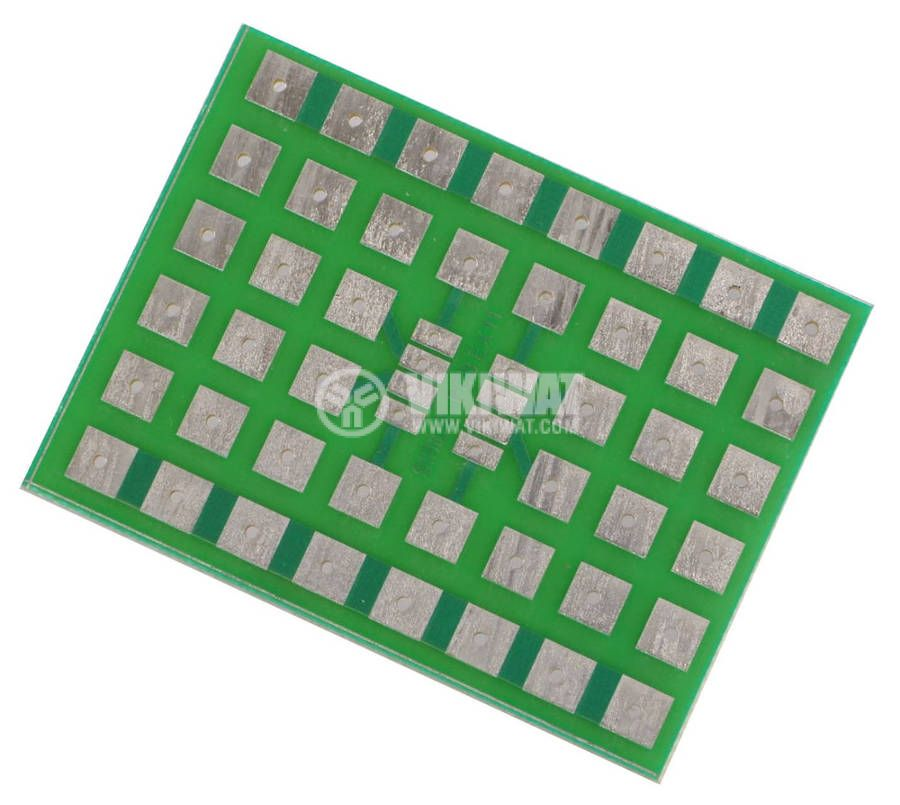 Universal PCB,single side, EX11, 46x62mm, for SMD elements