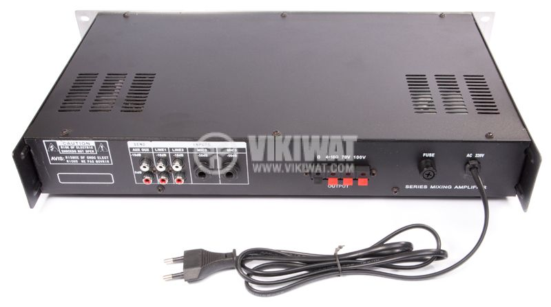 УСИЛВАТЕЛ ЗА ТАВАННИ ГОВОРИТЕЛИ PA-5060, 60W, 100V, USB - 2