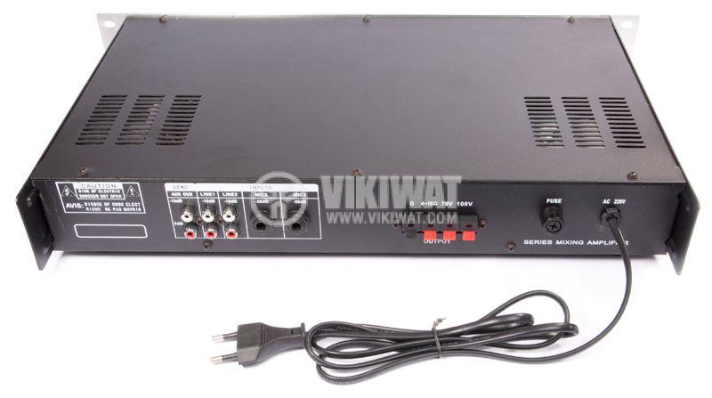 Ceiling speakers amplifier PA-5060, 60W, 100V, USB - 2