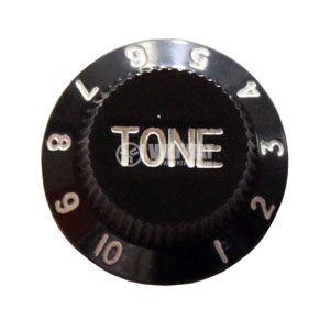 Копче за потенциометър за китара KB001 TONE черно