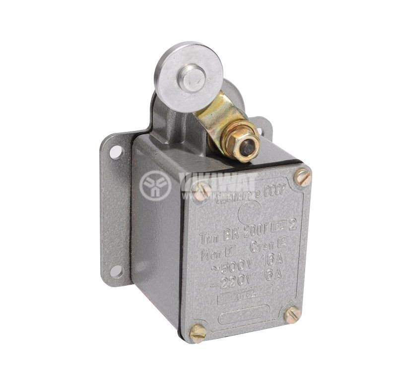 Limit Switch VK200G-BU2-1, DPST-NO+NC, 16A/500VAC, roller lever - 1