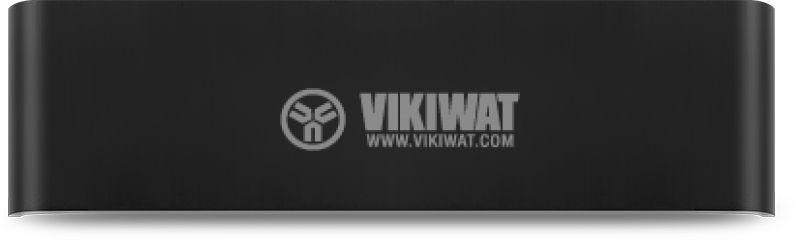 LED wall light AVVA=WL3, 8W, 220VAC, 400lm, 3000K, warm white, IP20, non-waterproof, BH07-03201, black body - 1