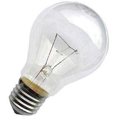 Обикновена лампа 220 VAC, 40 W, E27, бяла - 2