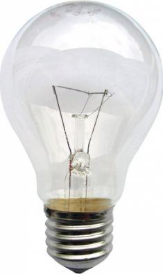 Обикновена лампа 220 VAC, 200 W, E27
