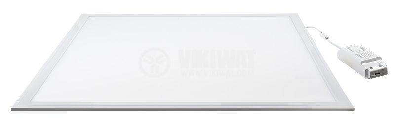 LED panel 40W, 220-240VAC, 2880lm, 4200K, 600x600mm, BP15-36610, built-in - 3