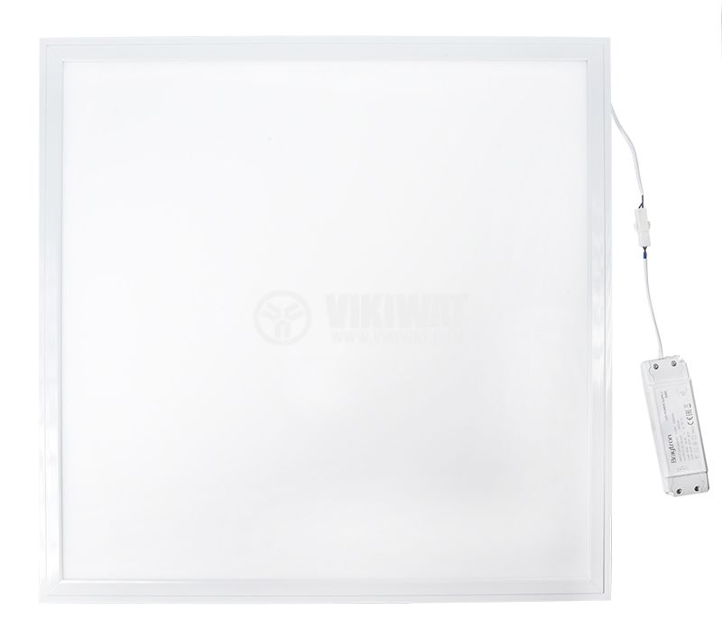 LED panel 40W, 220-240VAC, 2880lm, 4200K, 600x600mm, BP15-36610, built-in - 1
