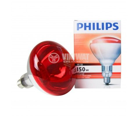 Кварцова лампа, E27, 230 VAC, 150W - 1