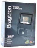 LED прожектор BT61-23032, 30W, 220V, 2400lm, 6500K студено бял - 6