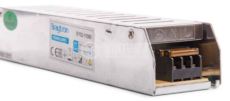 Switching power supply 24VDC, 4.2A, 100W, IP20, BYO2-11000 - 8