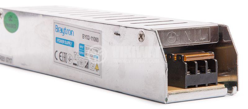 LED захранване 24VDC, 4.2A, 100W, IP20, BYO2-11000 - 8