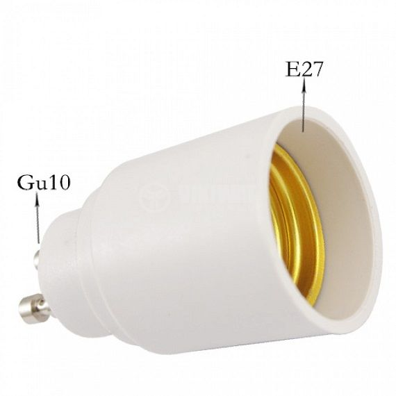 Преходна фасунга от GU10 към E27 - 5