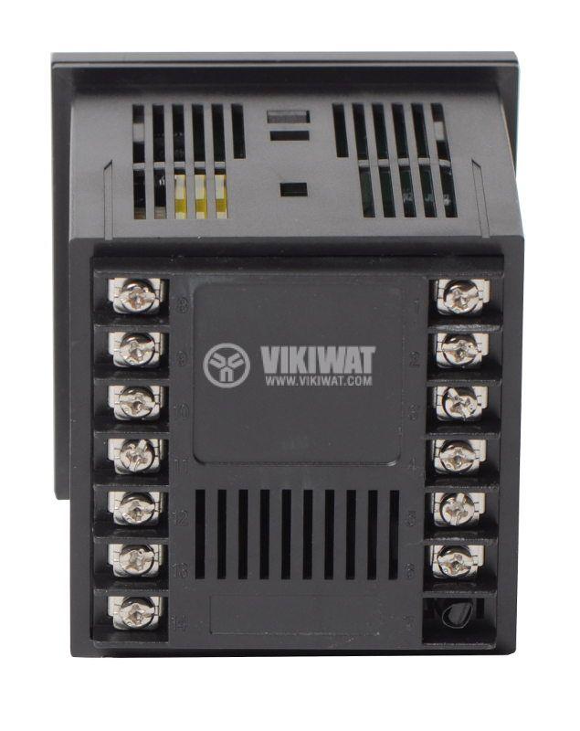 Temperature controller VTR-700CS, 220VAC, 0-400°C, TC type J, SSR output - 3
