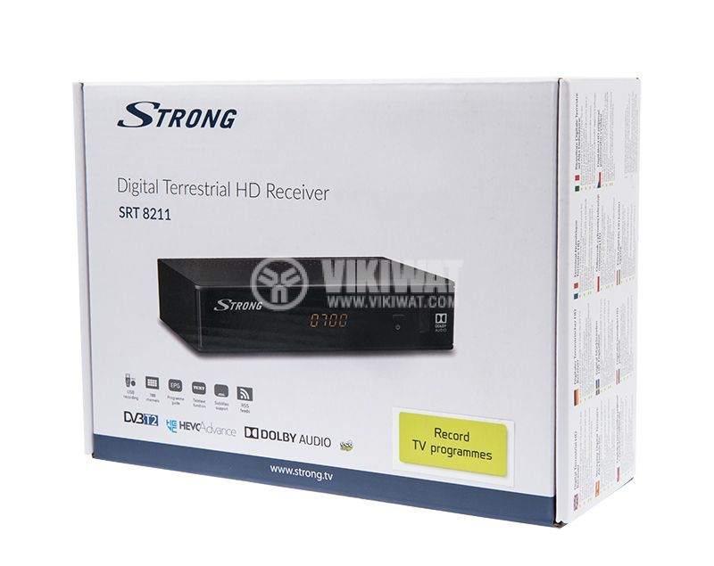 Terrestrial HD receiver SRT 8211, DVB-T2 FTA for terrestrial digital TV - 7