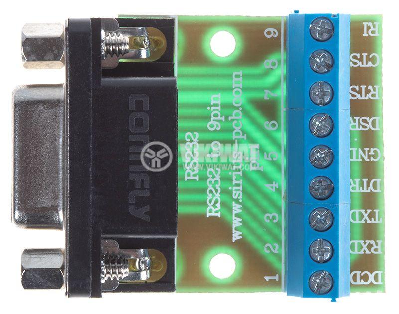 Преходна платка RS232 към 9 pin - 2