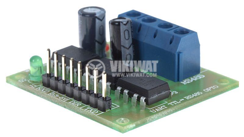 Конвертор UART TTL RS485 OPTO, 7.5~15V - 3