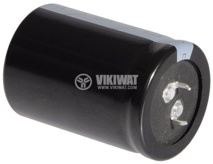 Кондензатор електролитен 450 V, 470 µF, Ф35x50 mm, snap-in
