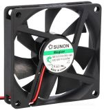 Axial Fan ME70151V3-000U-A99, 70x70x15mm, 12VDC, 0.047A, Ball bearing