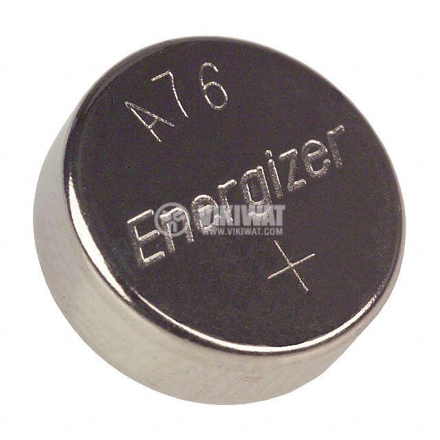Плоска батерия LR44, 1.5V, 150mAh - 1